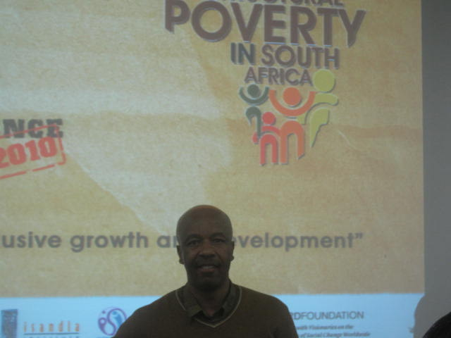 Siyabu Manona at the conference