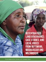 Decentralised land governance